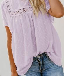 Violetne pluus (L/XL)