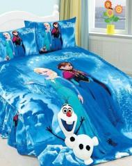 "Disney ""Frozen"" sinine voodipesukomplekt"