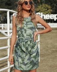 Sõjaväemustriiga kleit (M)