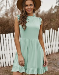 Heleroheline babydoll stiilis kleit (S ja XL)